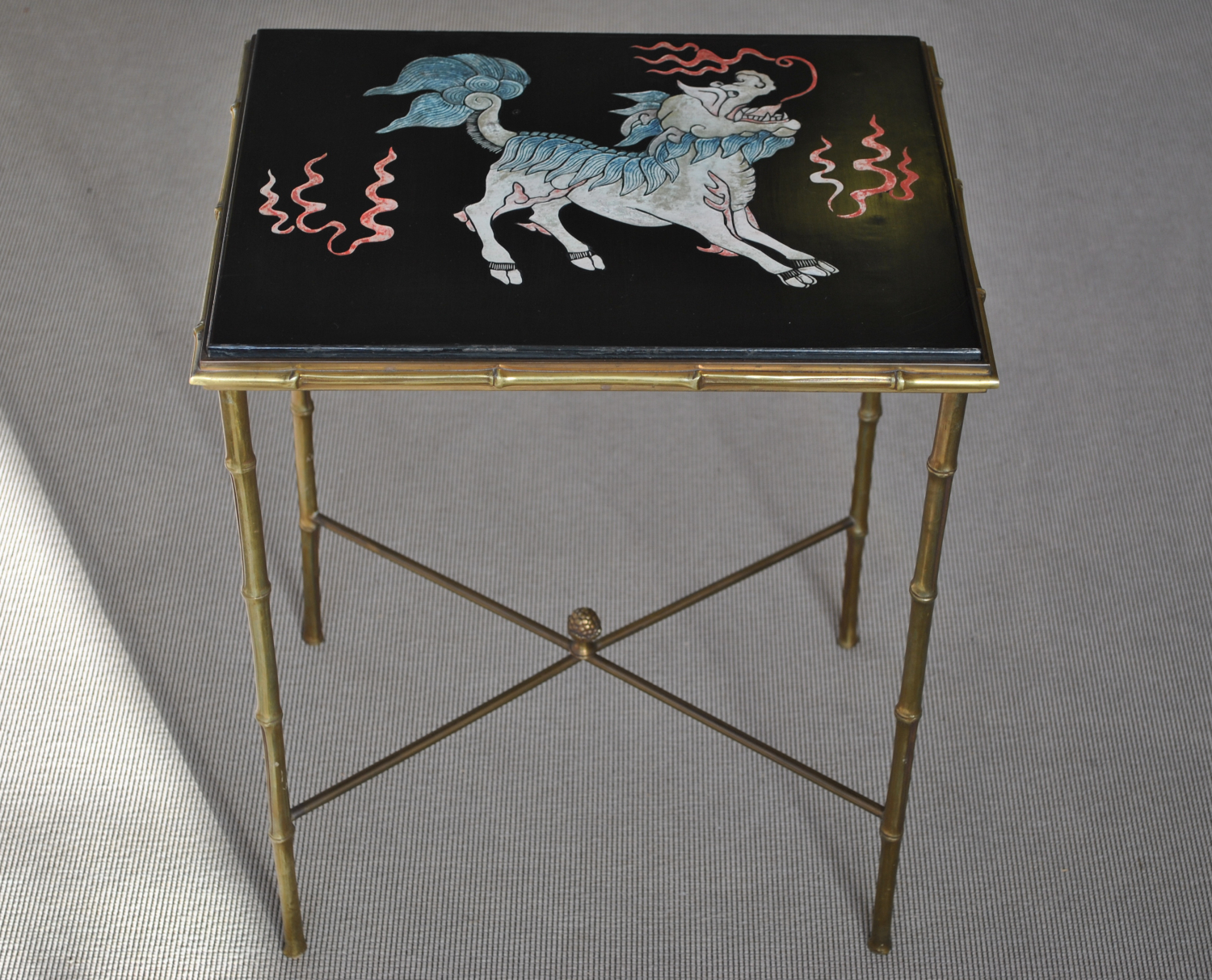 Bagues Lacquer Side Table