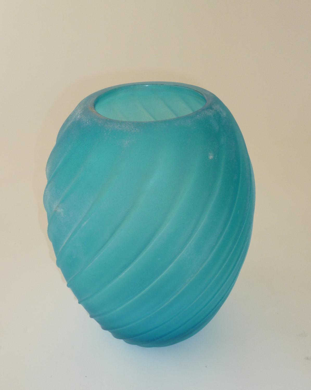 Blue Scavo Vase