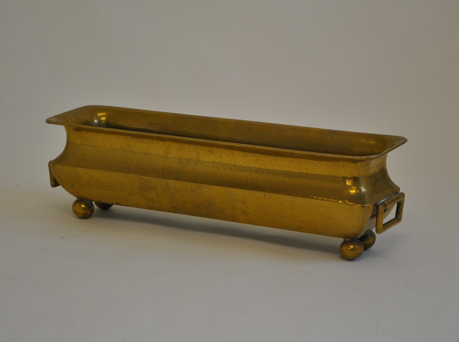 Brass Plant Pot Holder / Planter