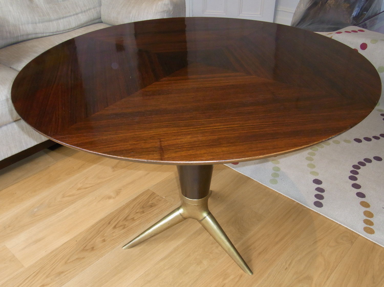 Mid-Century Italian Rosewood Table