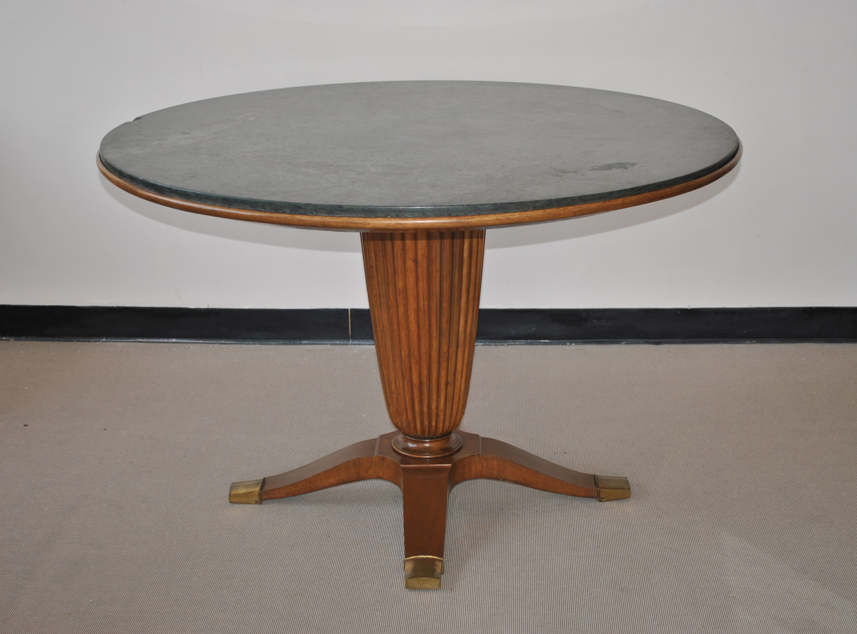 Circular Table by Paolo Buffa