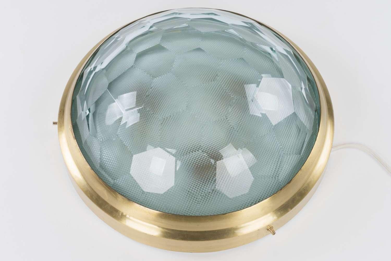 Hexagonal Crystal Ceiling Light