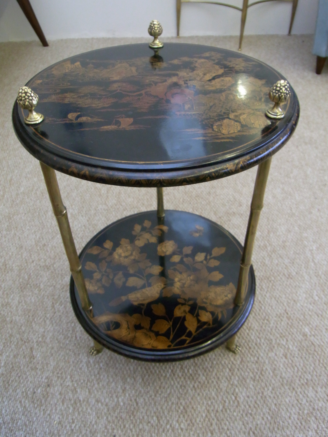 Lacquered Occasional Table by Maison Bagues