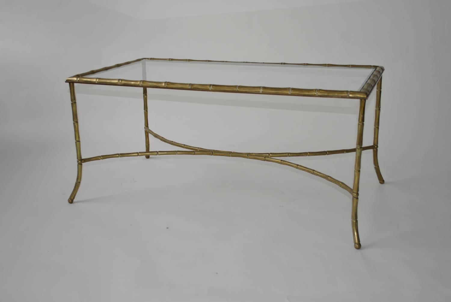 Bagues Faux Bamboo Coffee Table
