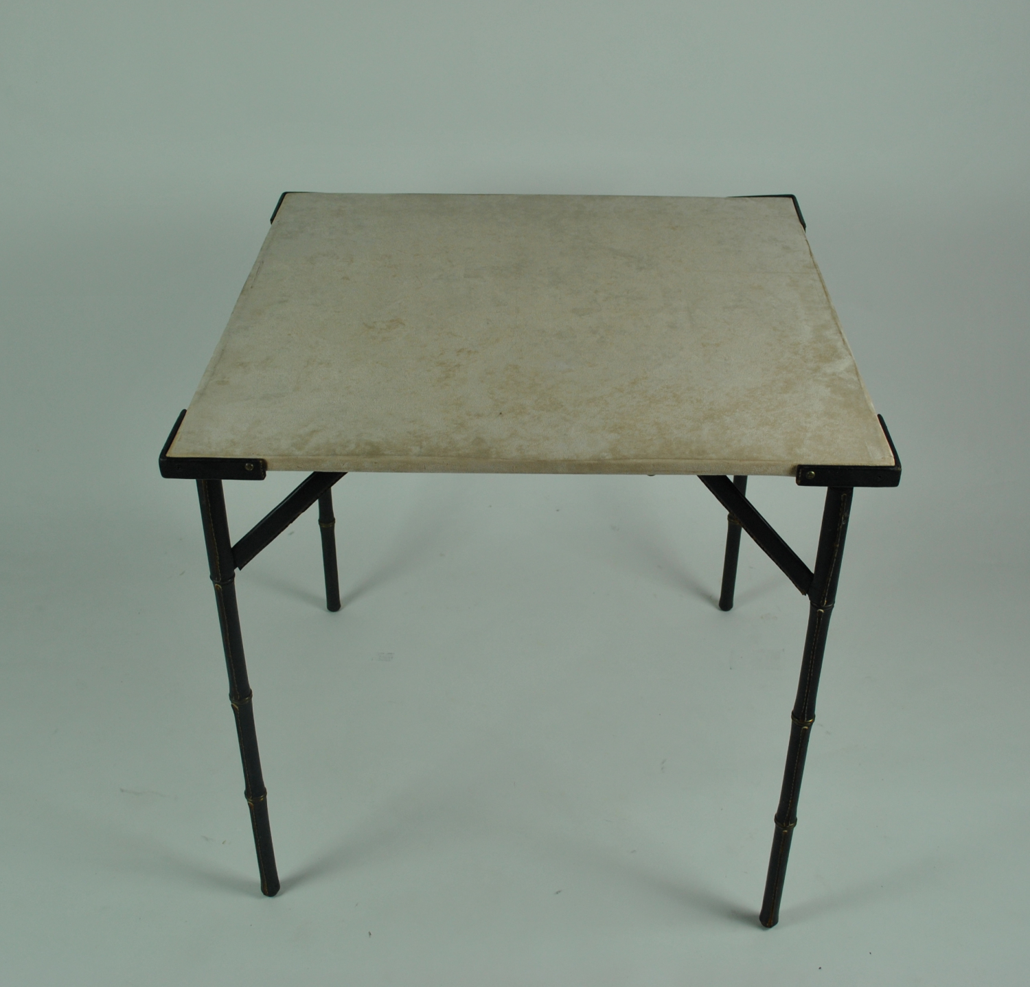 Card Table by Jacques Adnet