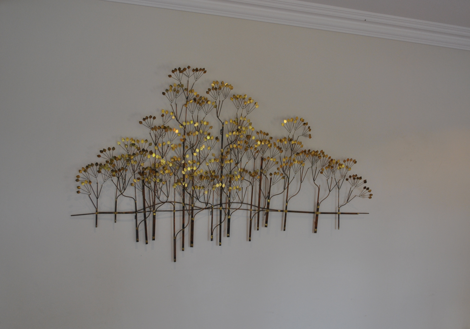 Curtis Jere Trees Wall Sculpture