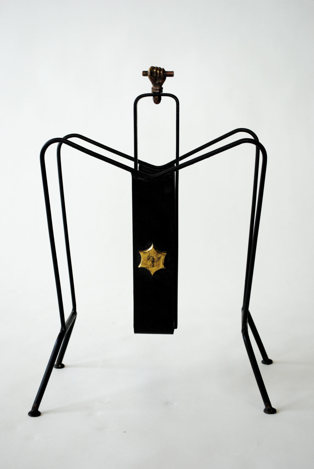 Magazine Rack by Jacques Adnet