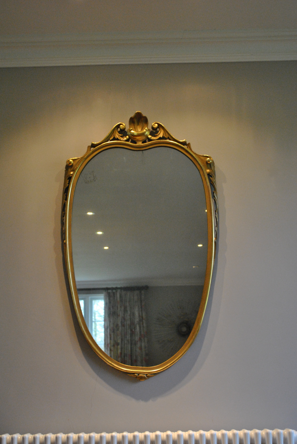 Carved Italian Mirror