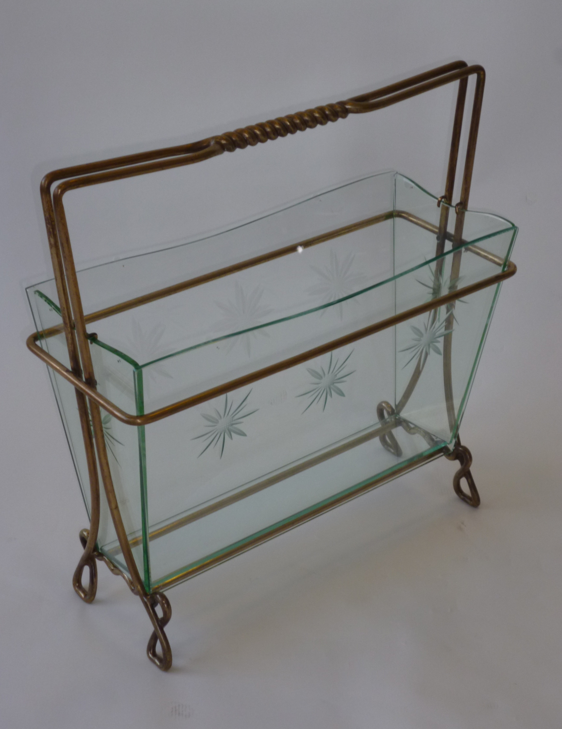 Brass Magazine rack