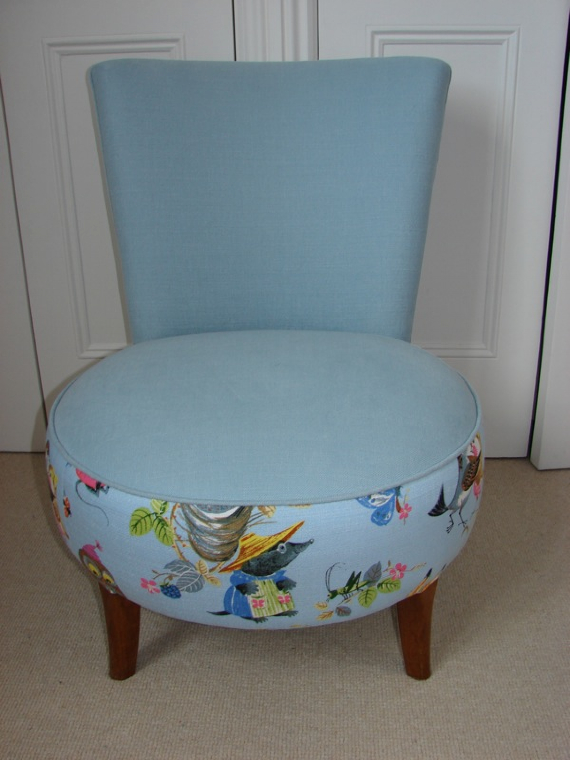 Blue Nursing Chair