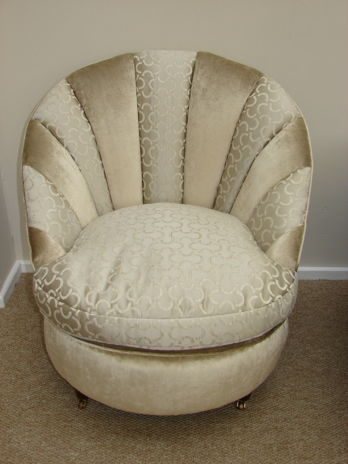 1930`s French Scallop Chair