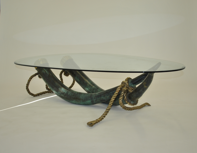 Elephant Tusk coffee table