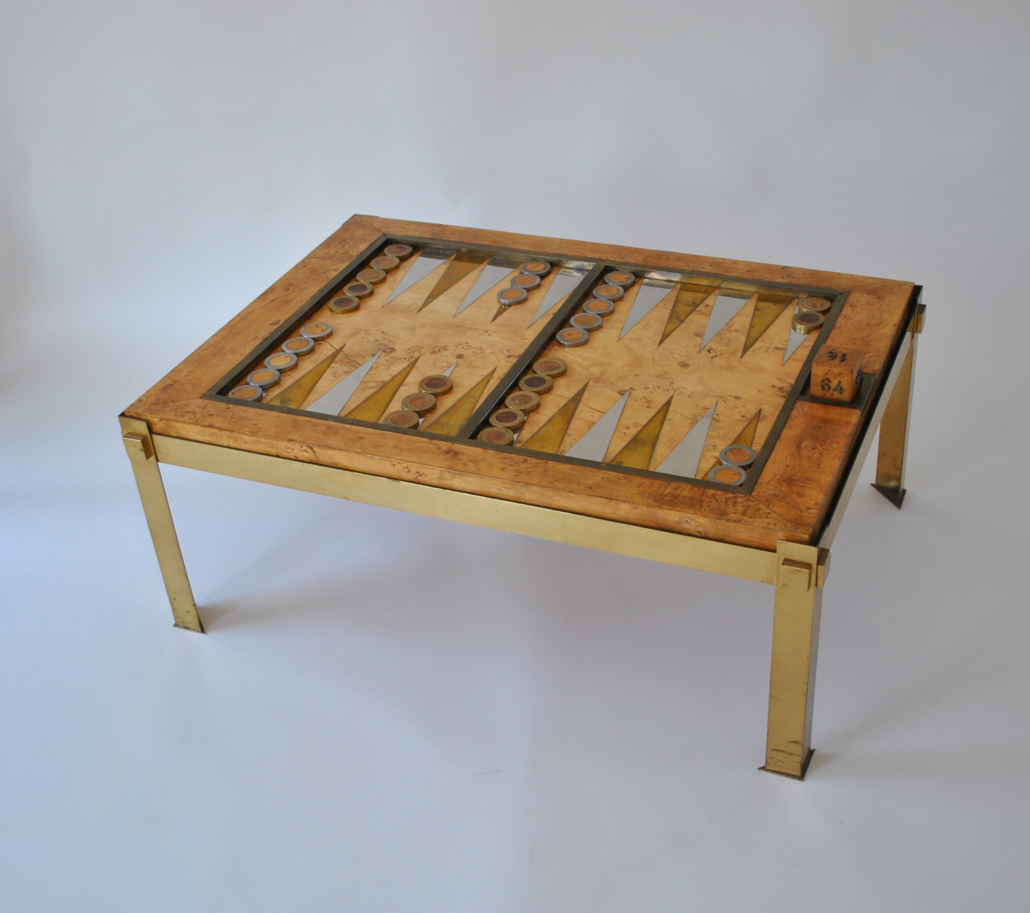 Tommaso Barbi Backgammon / Coffee Table