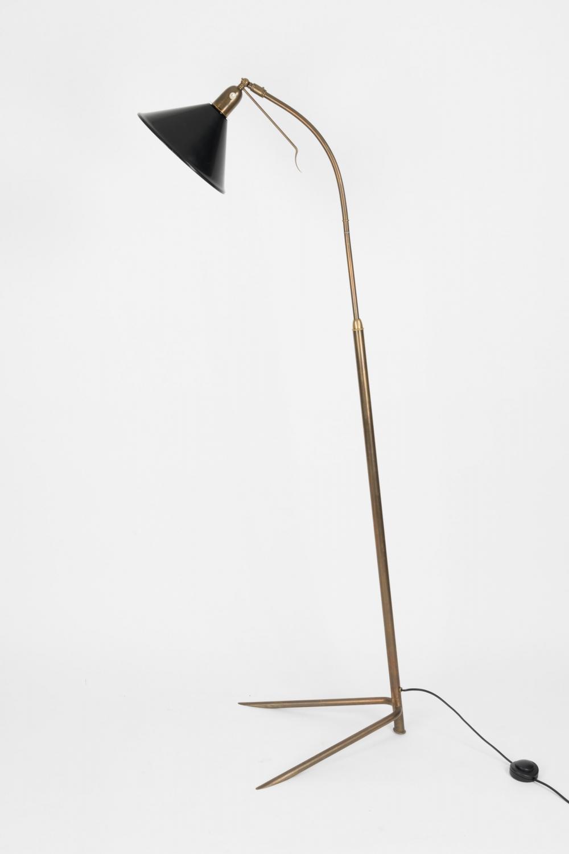 Italian Adjustable Floor Lamp