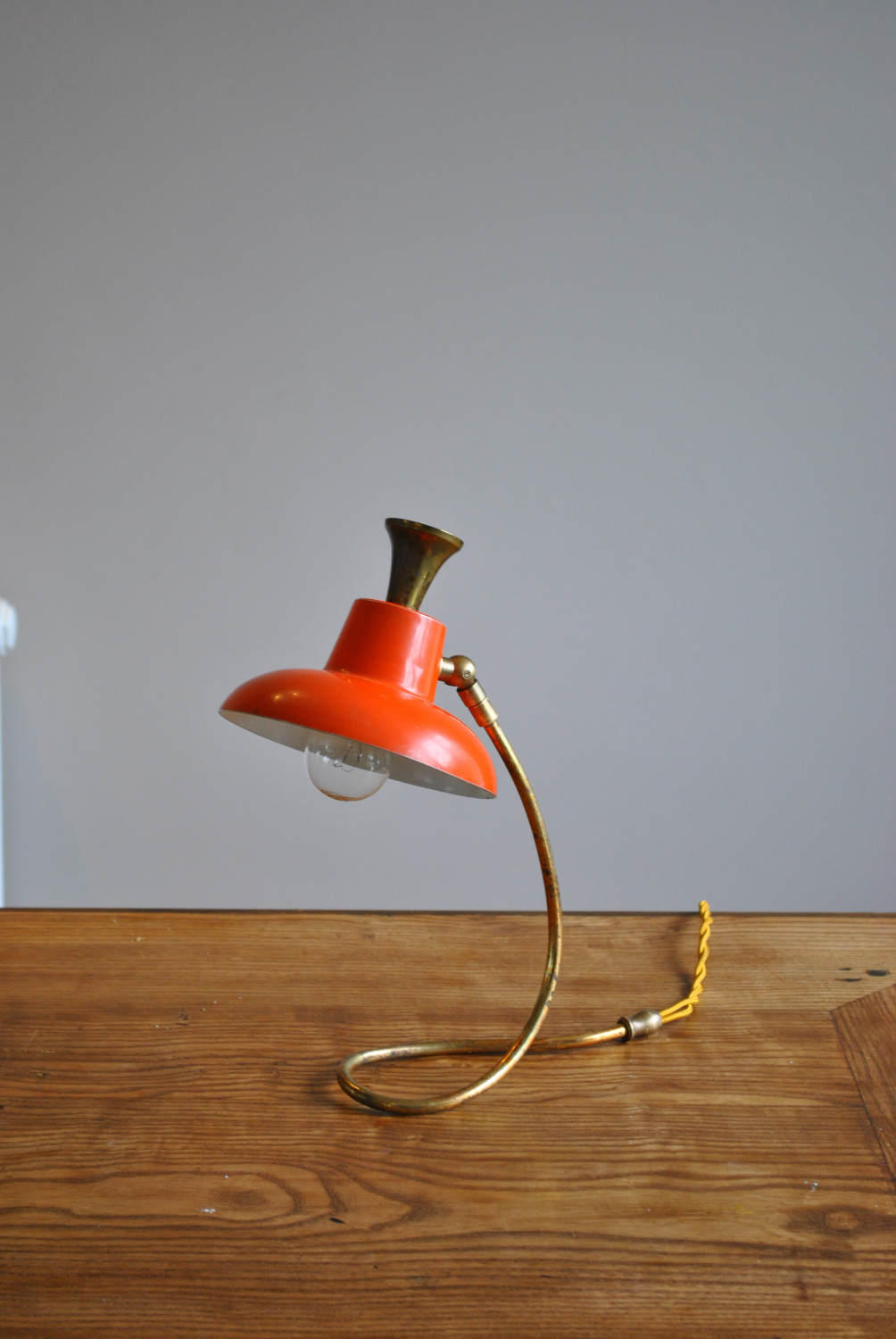 Lacquered Table / Desk Lamp