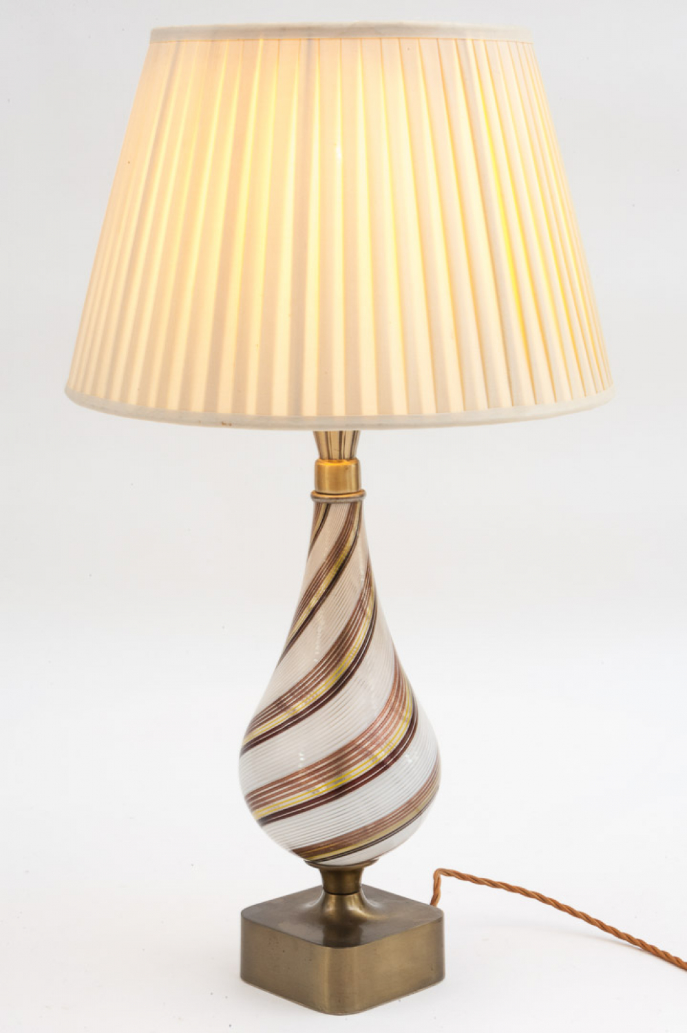 Italian Murano table lamp