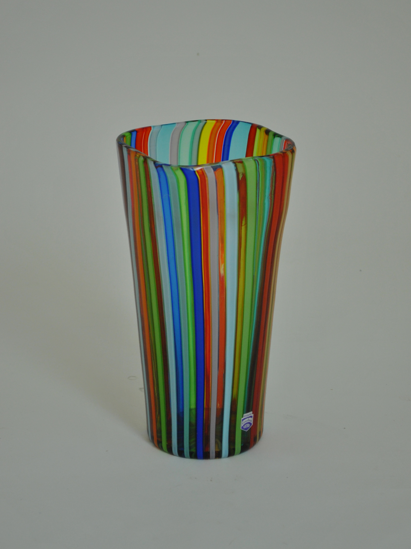Cenedese Striped Vase