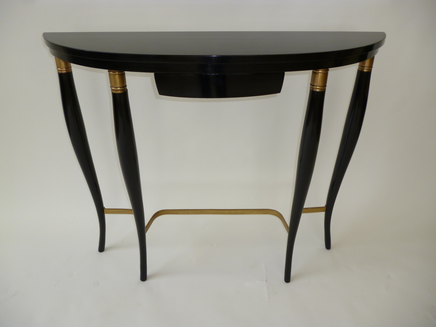 Ebonised Italian Console