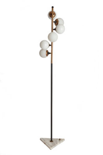 Italian Floor Lamp with 6 Shades