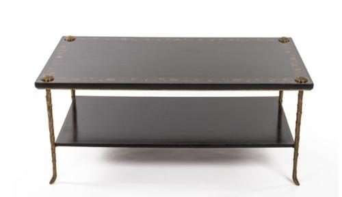 Black lacquer and Gilt Coffee Table
