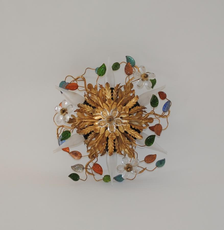 Ceiling / wall light in the style of Maison Bagues