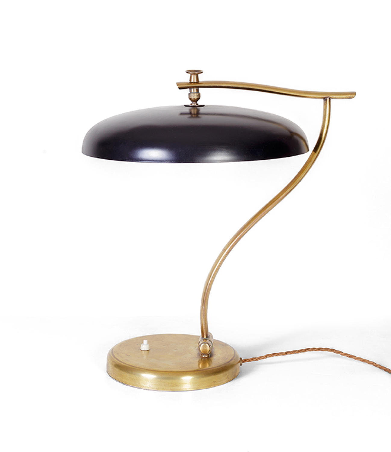 Lacquered Italian desk lamp