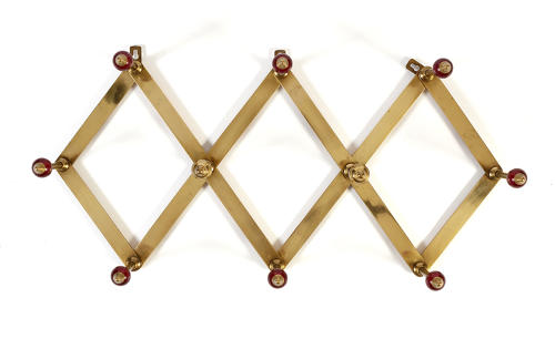 Red Dominioni coat rack