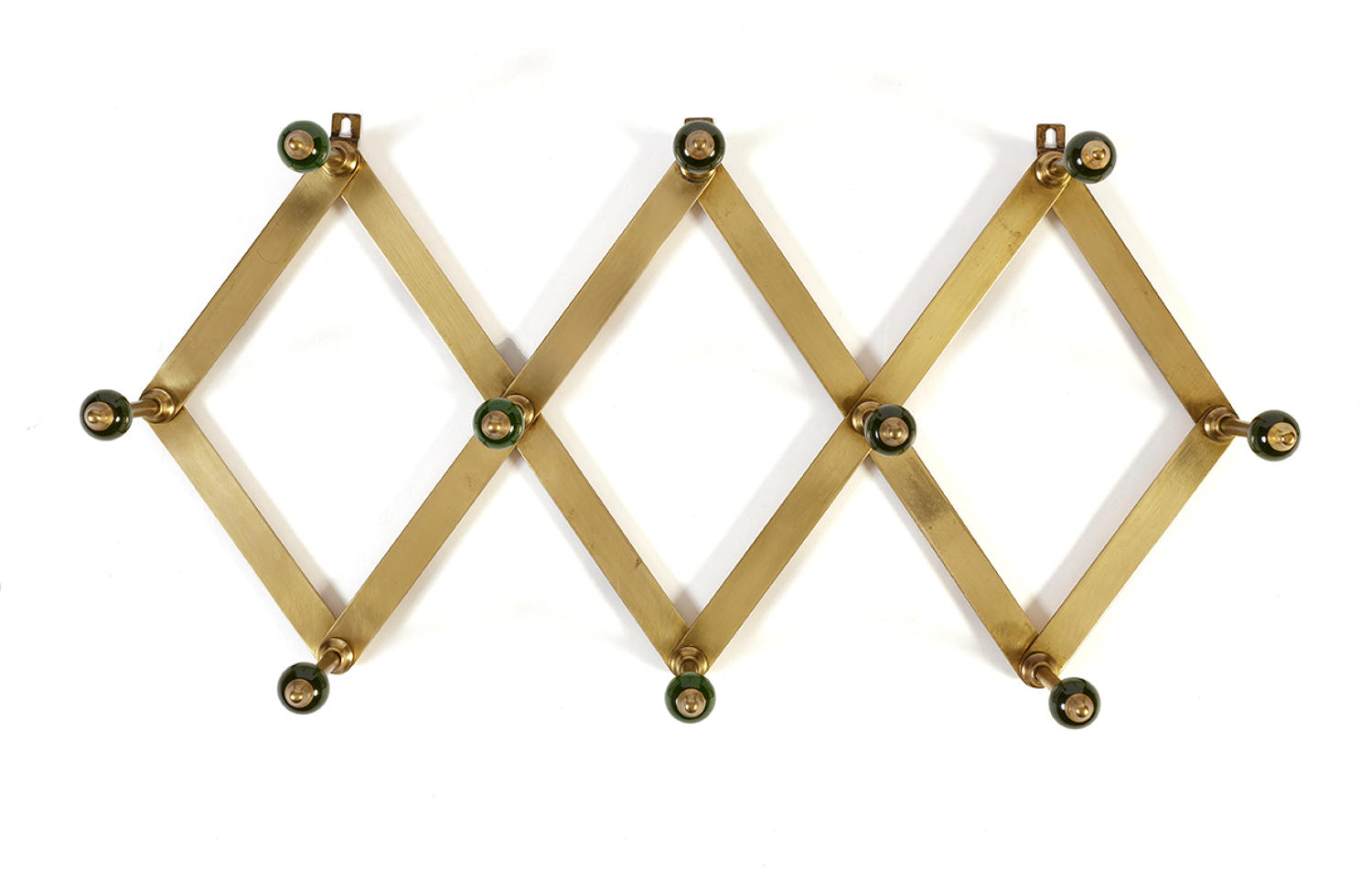 Green Dominioni coat rack