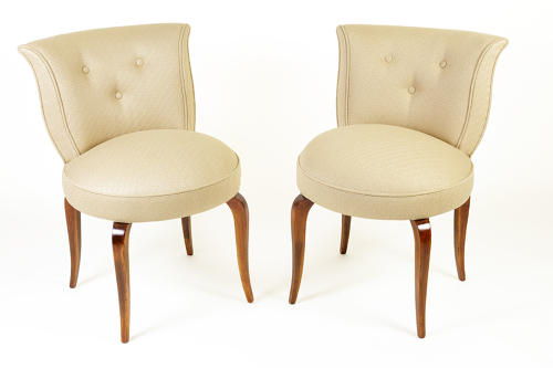 Dressing table / occasional chairs in weave.