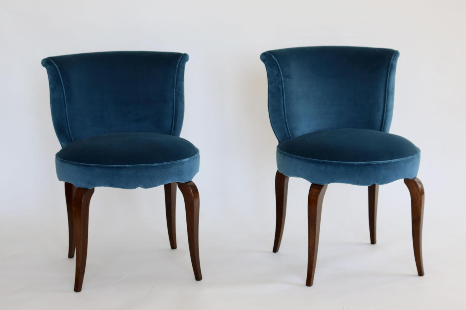 Pair of French Art Deco Chairs
