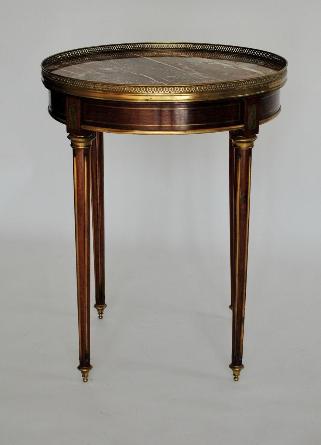 Marble Topped Gueridon / Side Table