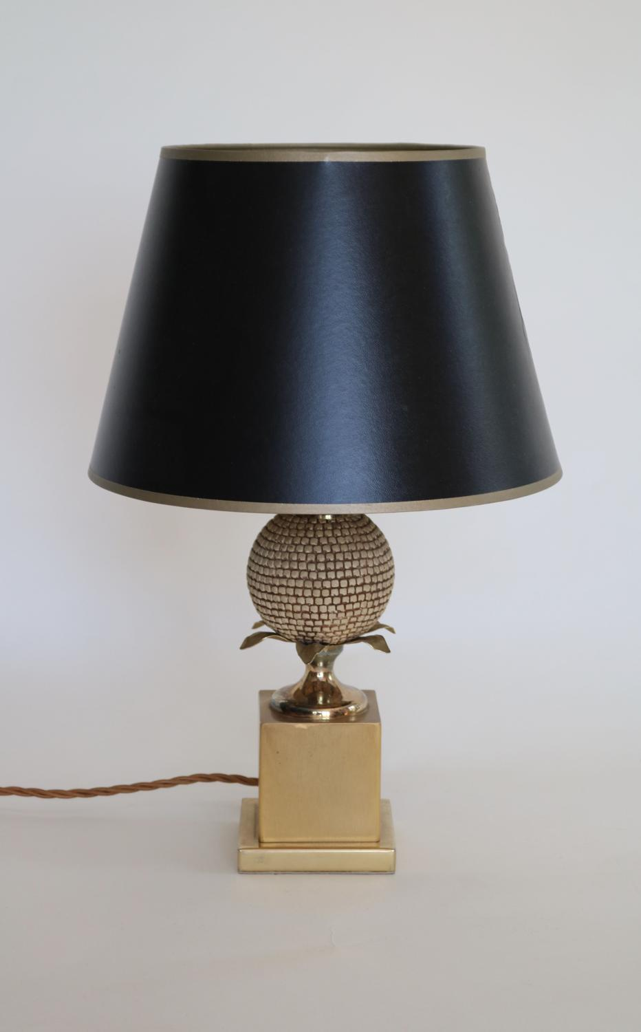 Brass & Gilt Metal Table Lamp 2