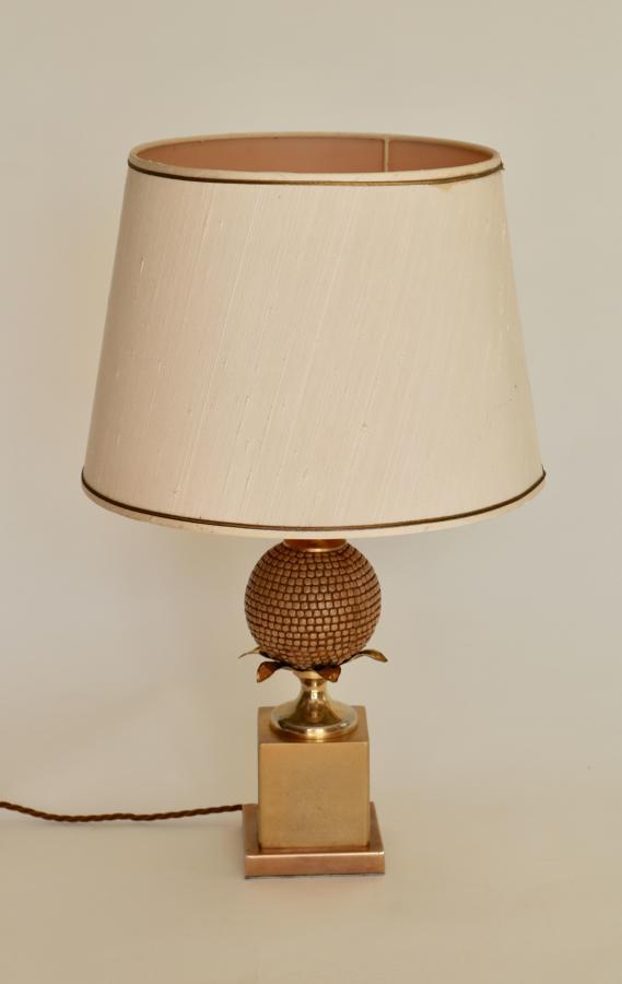 Brass & Gilt Metal Table Lamp 1