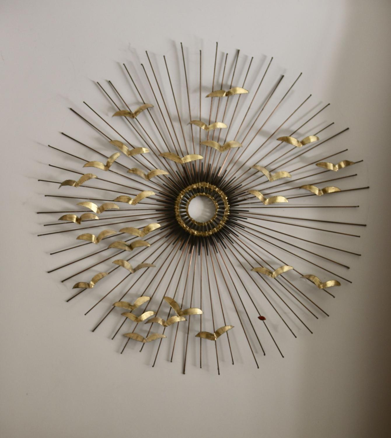 Brass & Metal Wall Sculpture