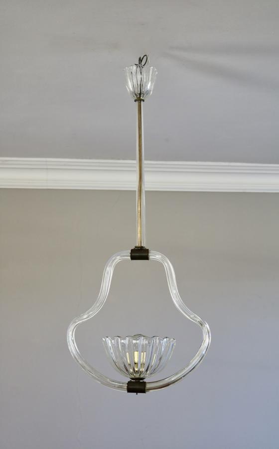 Barovier Style Murano Pendant Light