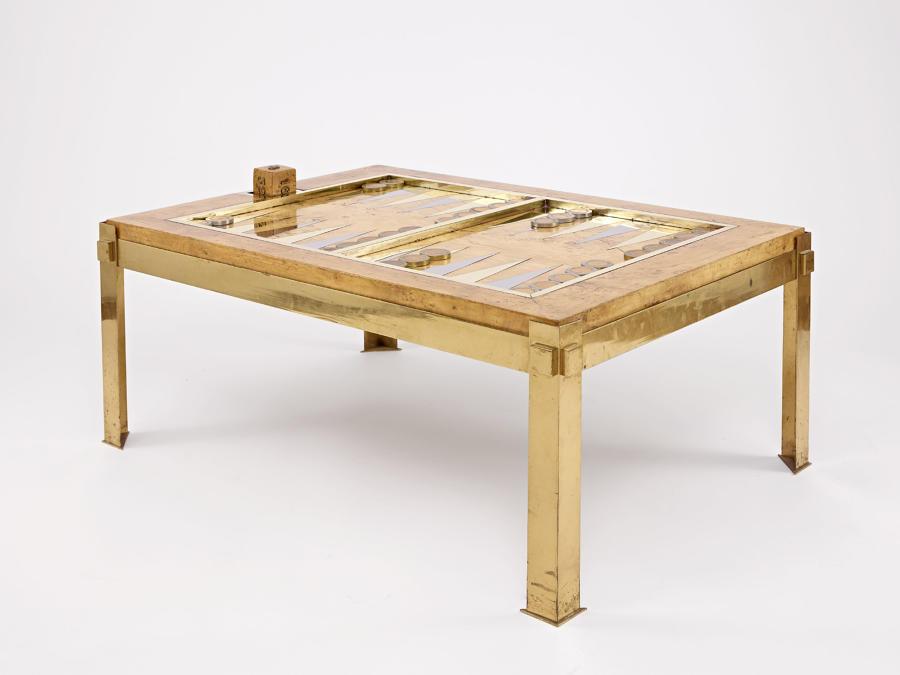 Tommaso Barbi Backgammon / Coffee Table