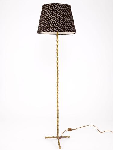 Faux bamboo Floor Lamp