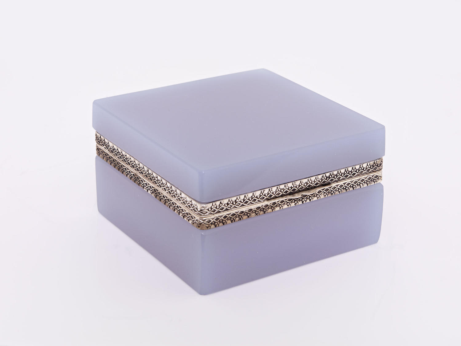 Opaline Square Boxes