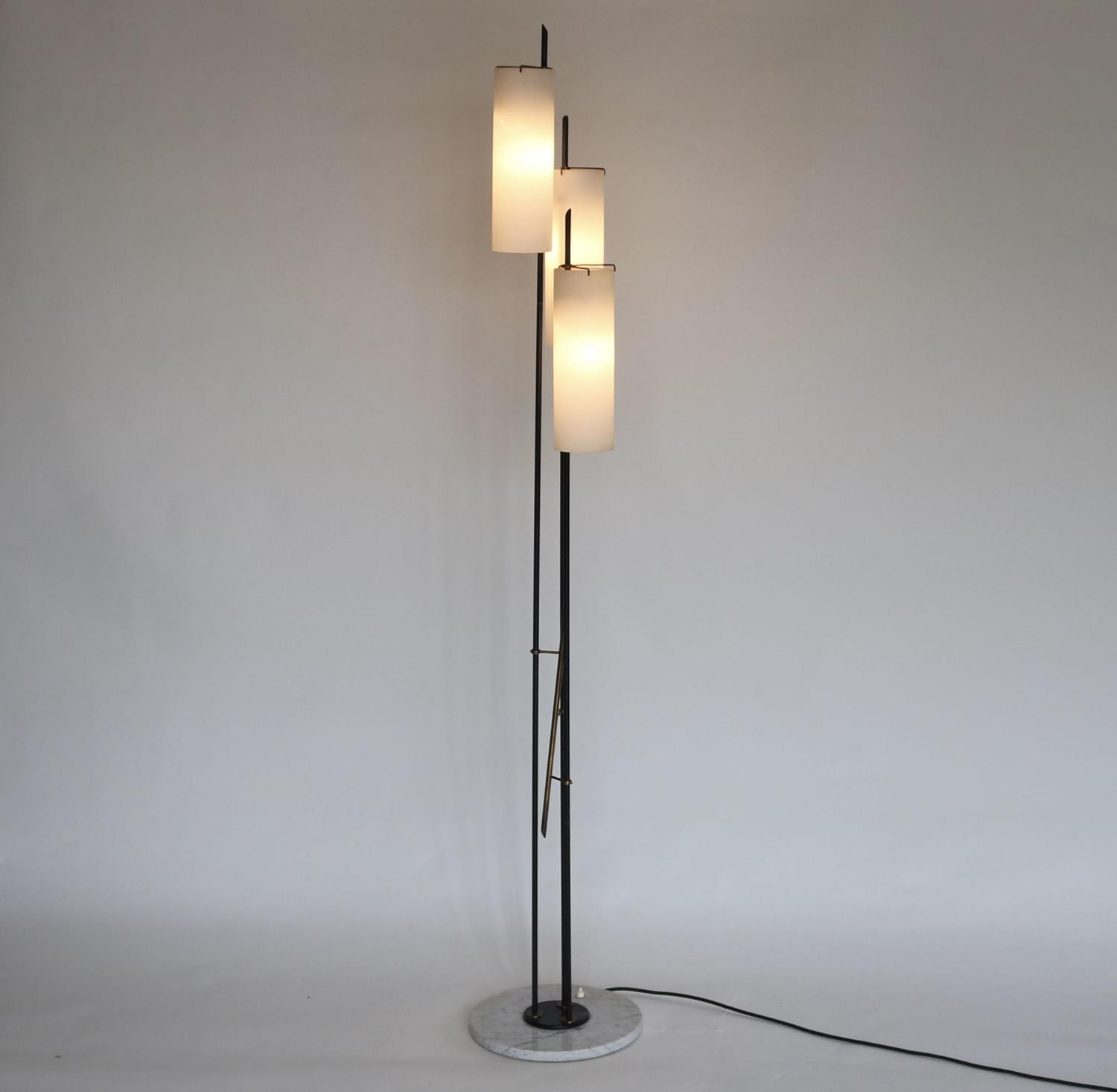 Italian 1950's Floor Lamp by Stilnovo
