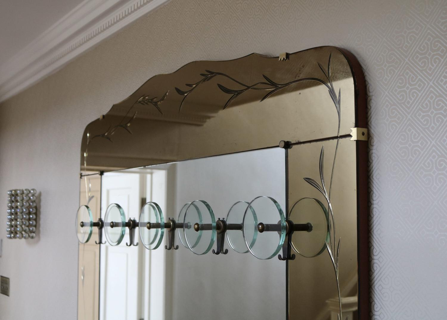 Italian Floor standing hall mirror