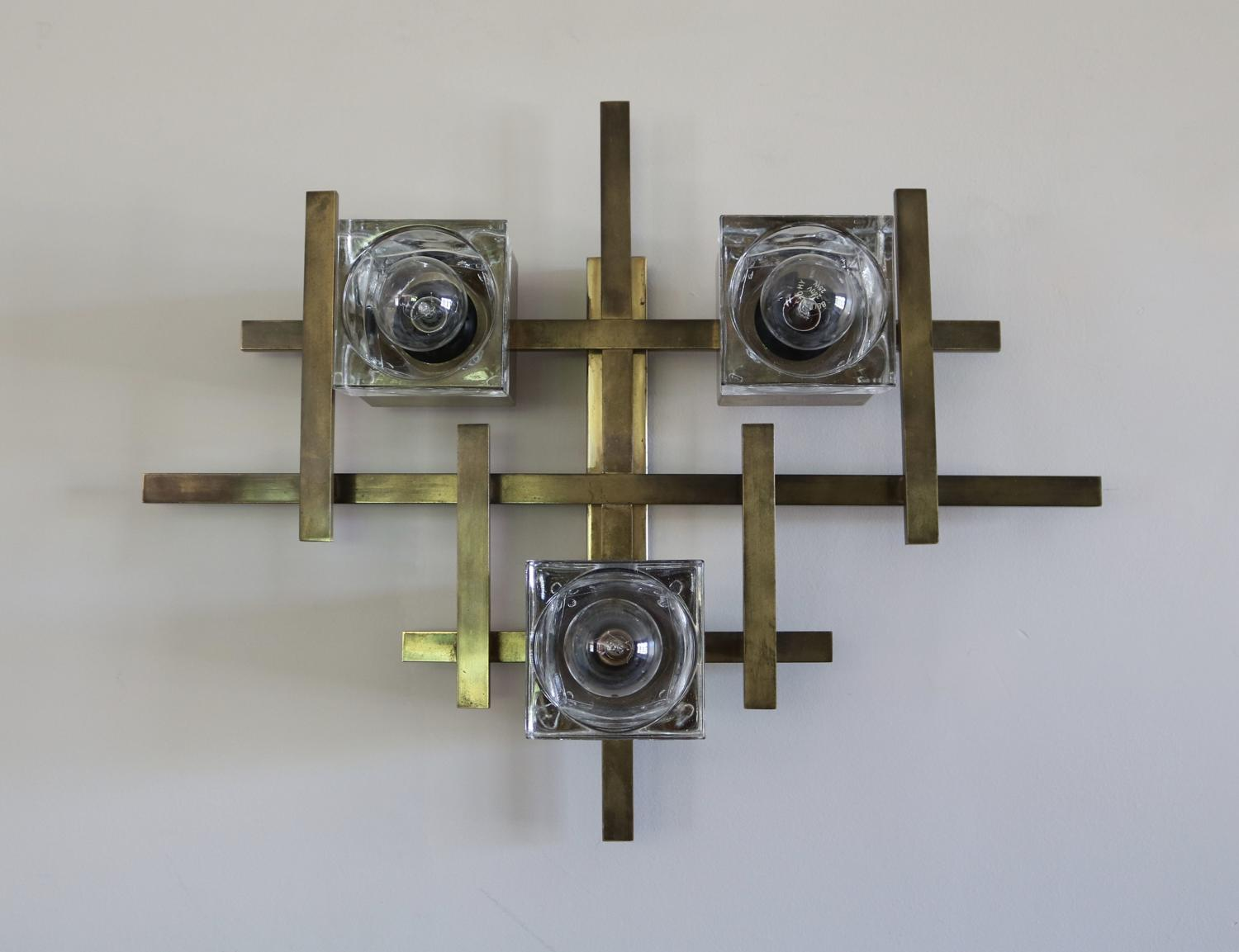 Geometric Sciolari Wall Light