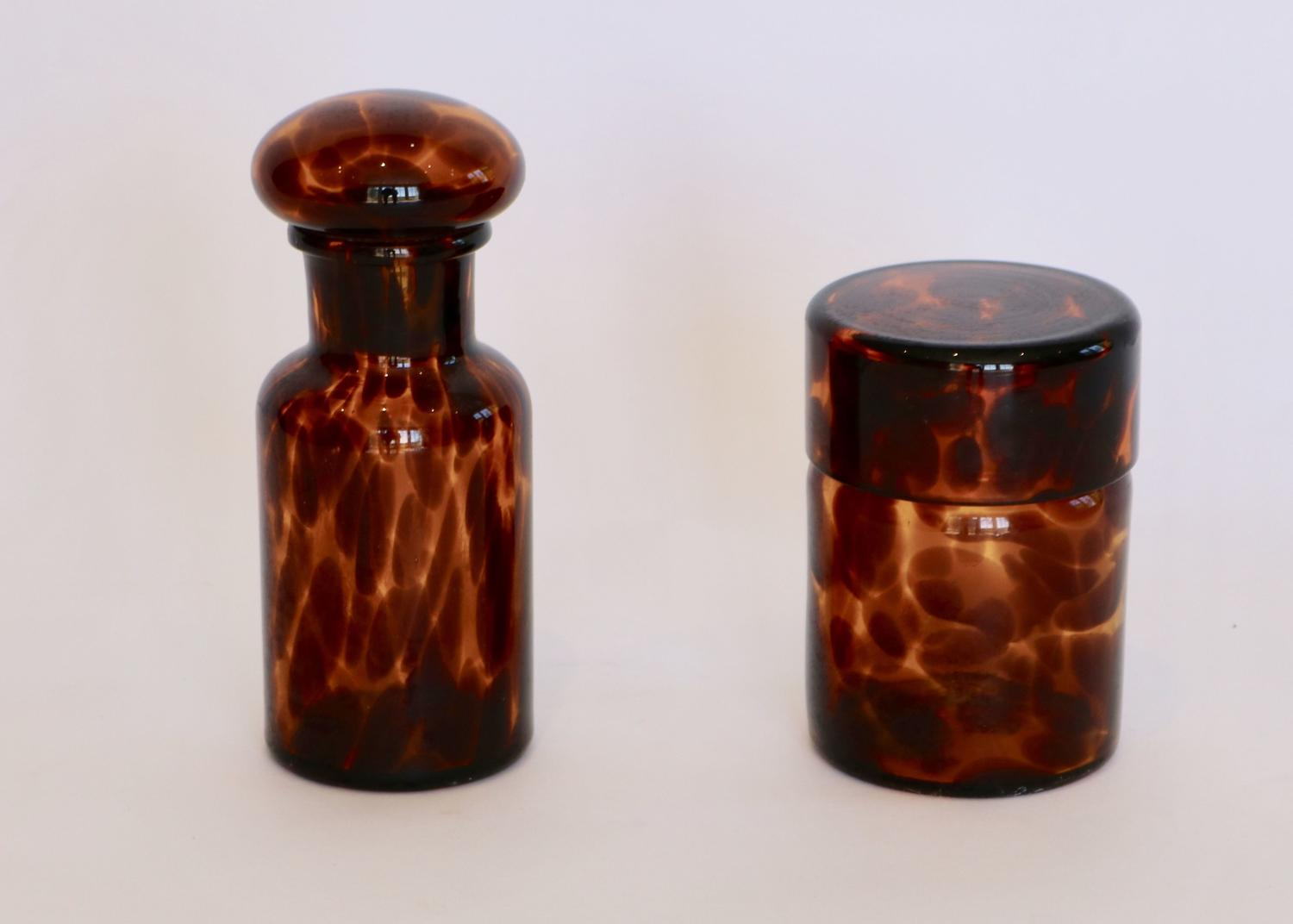Tortoiseshell Bathroom / Vanity Set