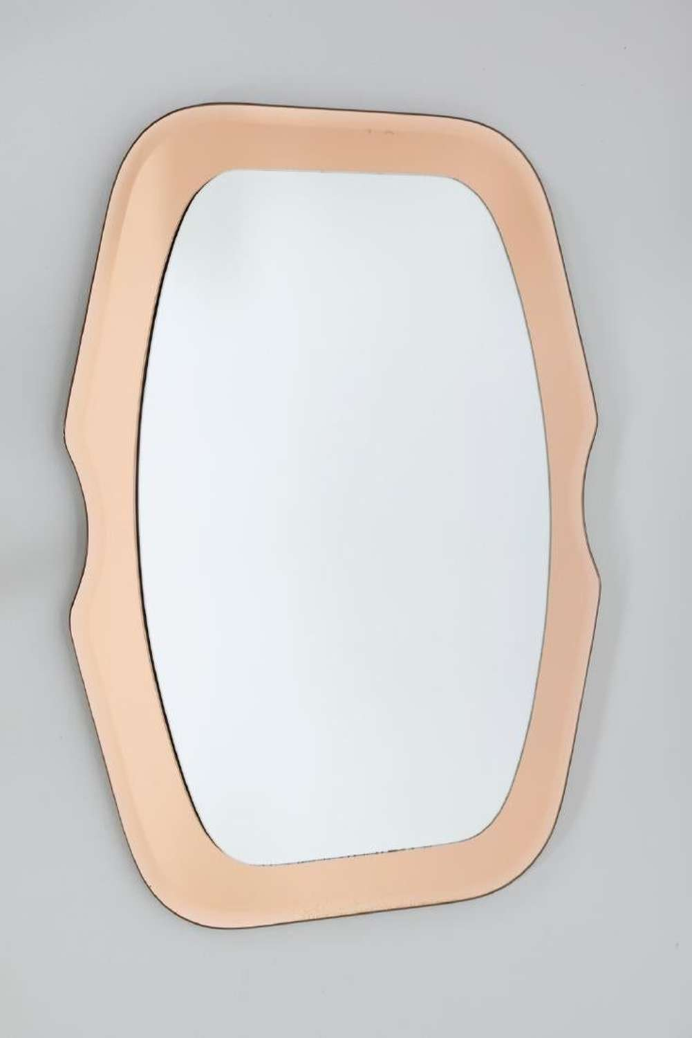 Shaped Peach Mirror