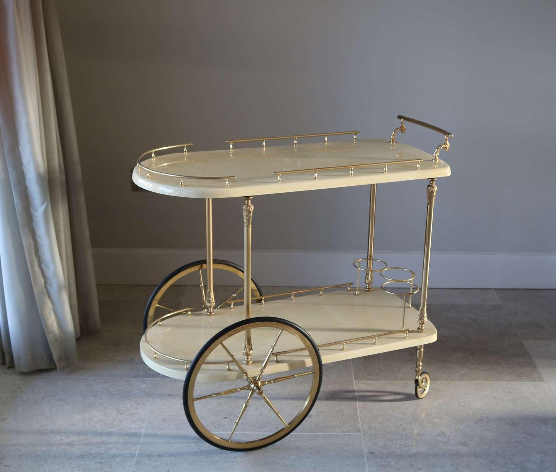 Tura Goatskin Trolley