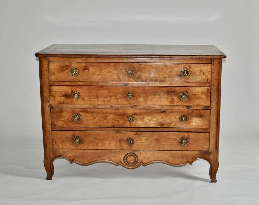 Early 19th Century French Cherrywood Commode